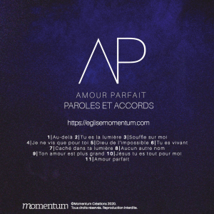 Tablatures accords album amour parfait église momentum
